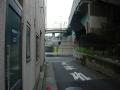 150829出来島大橋側道奥の突き当たり