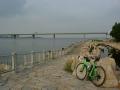 150829矢倉緑地から海が見えた