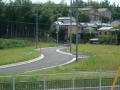 150912中之芝の史跡公園付近の新道