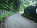 150920笹ケ峠下りの狭路部分