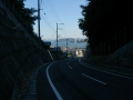 150920少しブルーライン離脱。大浜漁港へ抜ける