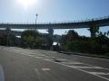 150920来島海峡大橋アプローチの入り口
