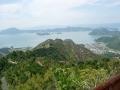 150920鷲ケ頭山の下りからの眺望