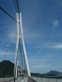 150920多々羅大橋を渡る