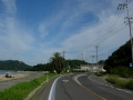 150920因島大橋が見えて来る