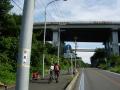 150920因島大橋アプローチ入り口