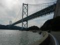 150920因島大橋を向島側から望む