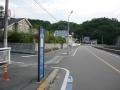 150921因島大橋へのアプローチ入り口