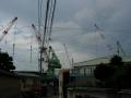 150921波止浜の造船地帯に下りて来た
