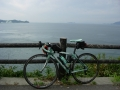 150921波方半島、大角海浜公園からの斎灘の絶景