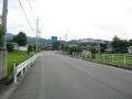 150921バイパスから一本東側の県道を快適に進む