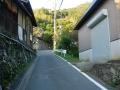 151003金蔵寺へ上って行く。