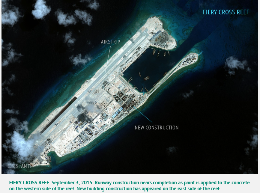 201509 Fiery Cross Reef