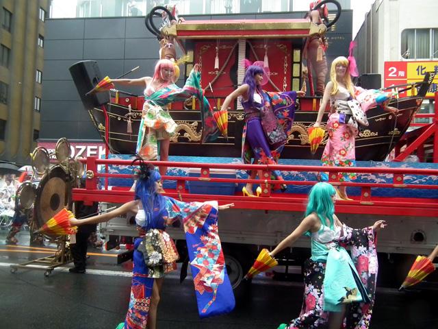 2015浅草サンバ・ロボットレストランサンバチーム(10)