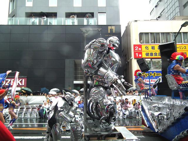 2015浅草サンバ・ロボットレストランサンバチーム(11)