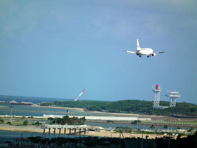 2015沖縄旅行 飛行機(1)