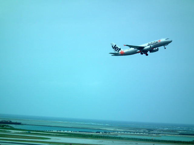 2015沖縄旅行 飛行機(4)