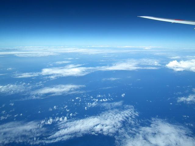 2015沖縄旅行 飛行機(10)