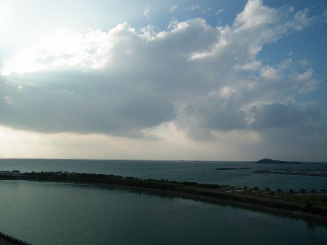 2015沖縄旅 ホテル客室からの眺め