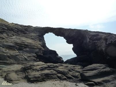 馬の背洞門(1)