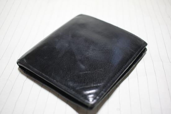 コムデギャルソンオムの財布1
