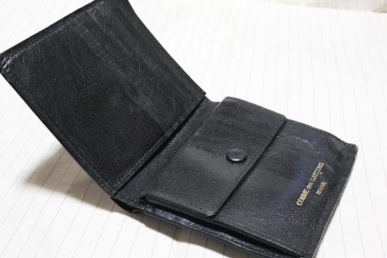 コムデギャルソンオムの財布2