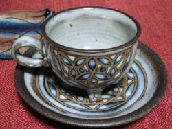 下方直樹さんのカップ&ソーサー