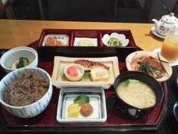 和食レストラン「真南風」朝食