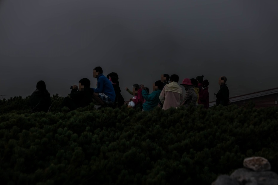 2015.08.27白山登山ー雲海と夕焼け16