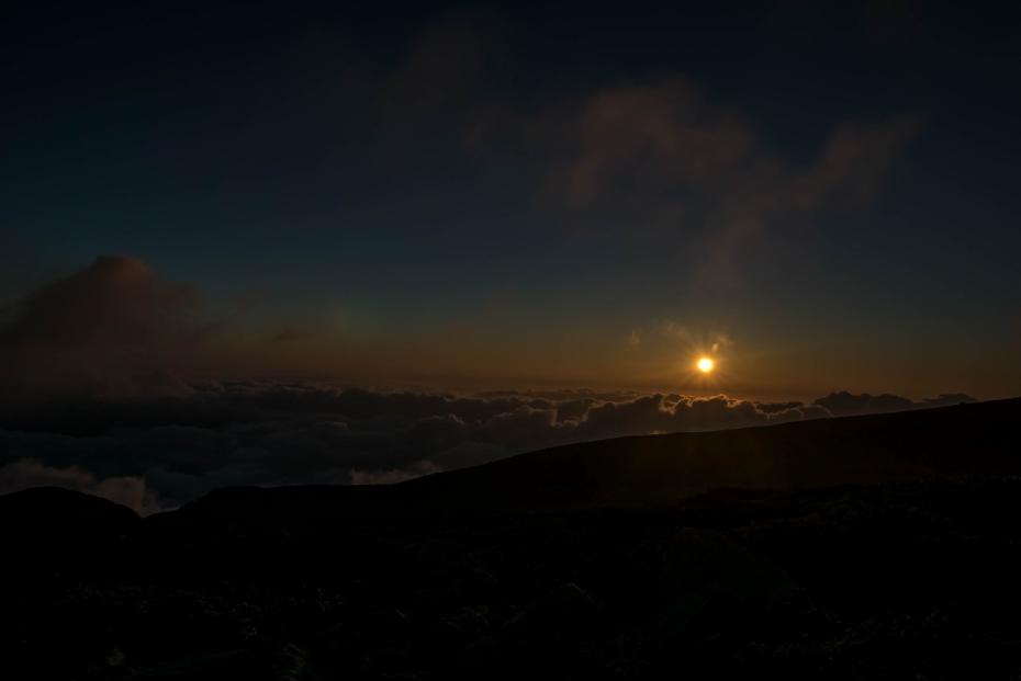 2015.08.27白山登山ー雲海と夕焼け14