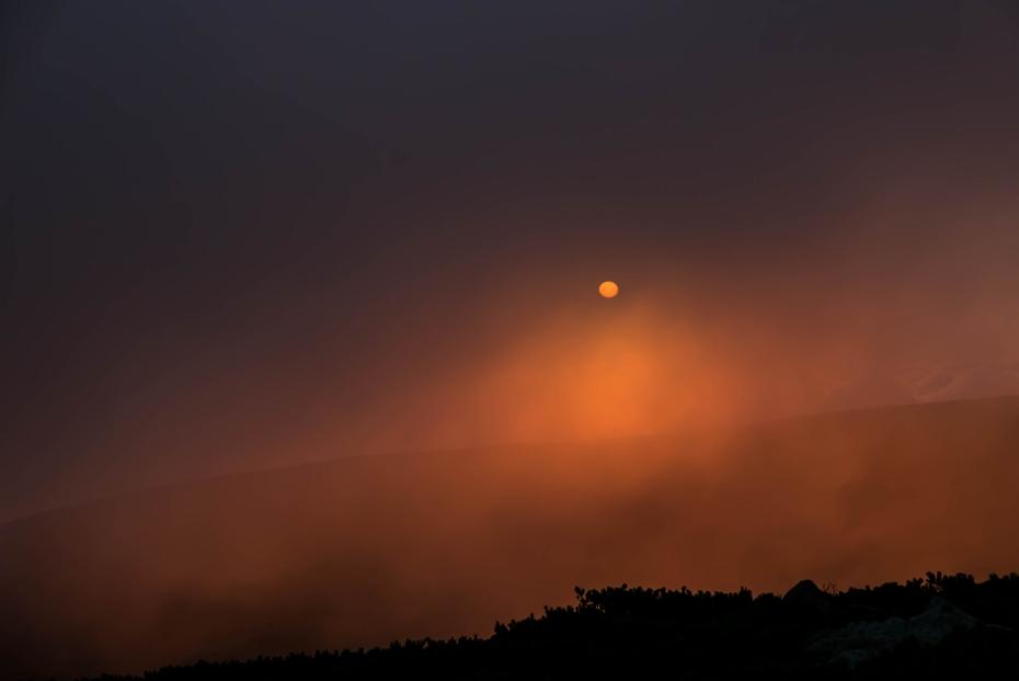 2015.08.27白山登山ー雲海と夕焼け15