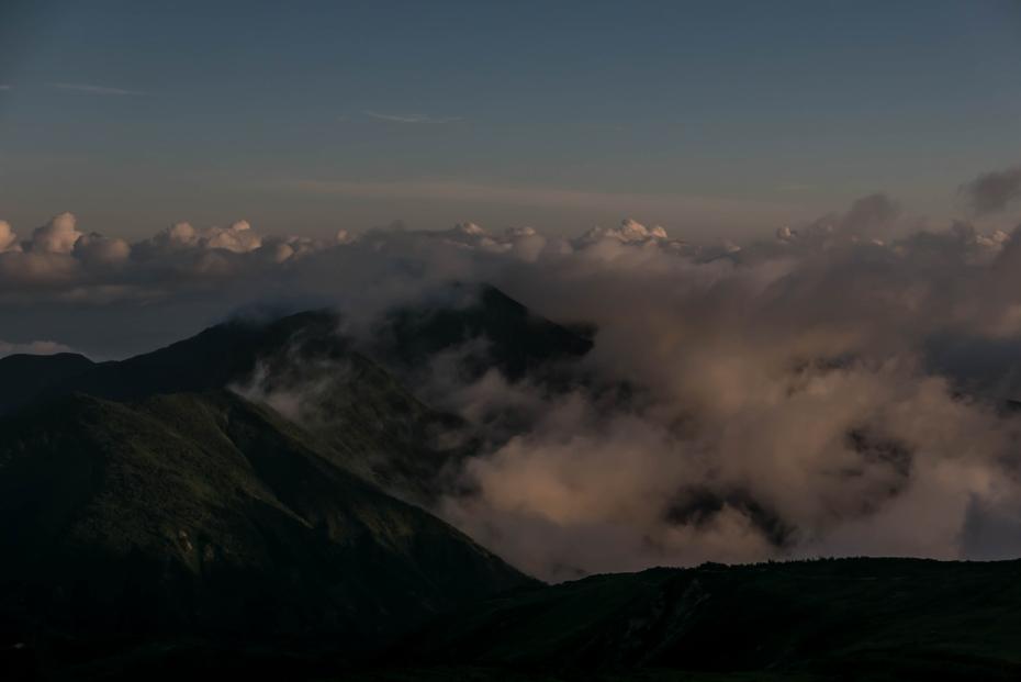 2015.08.27白山登山ー雲海と夕焼け13