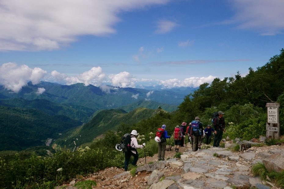 2015.08.27白山登山ー雲海と夕焼け7