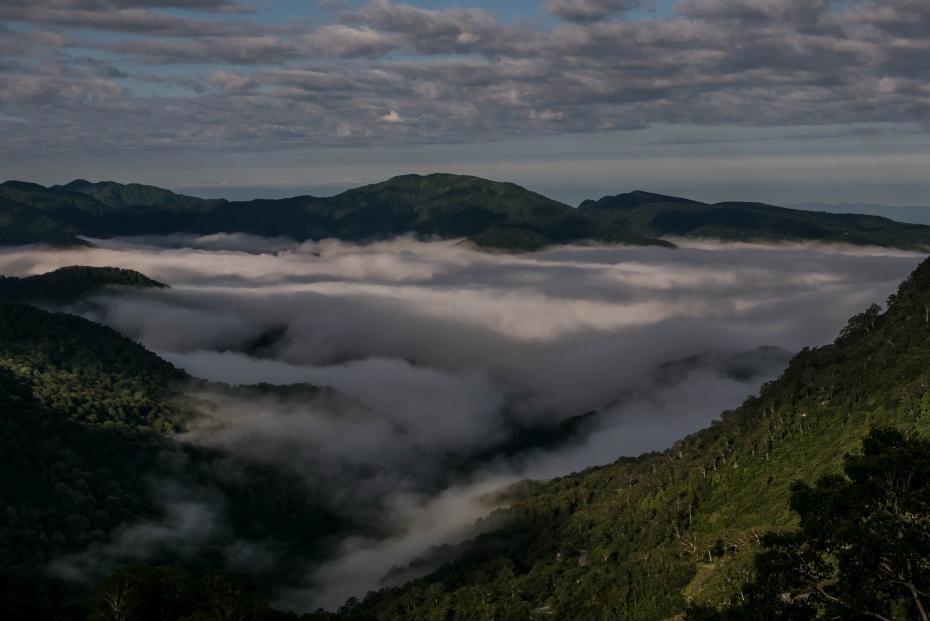 2015.08.27白山登山ー雲海と夕焼け6
