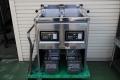 タニコー電気フライヤー二槽タイプ TEFL-67WN01