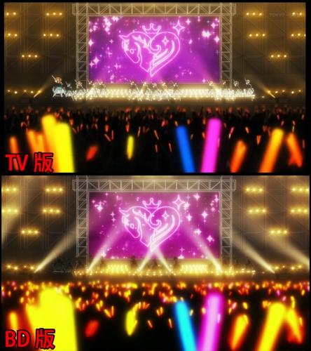 ステージ上のライト変更