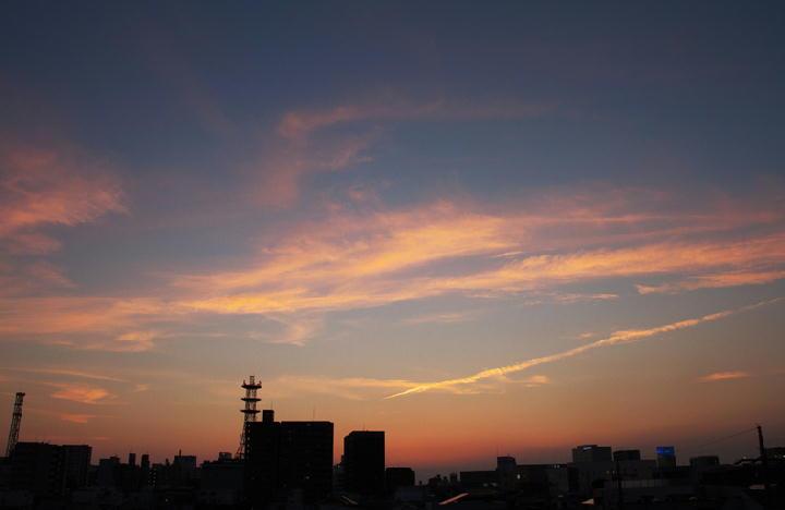 9月4日 18-20 夕焼け-1