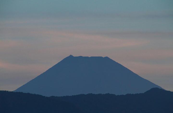 9月15日 今朝の富士山