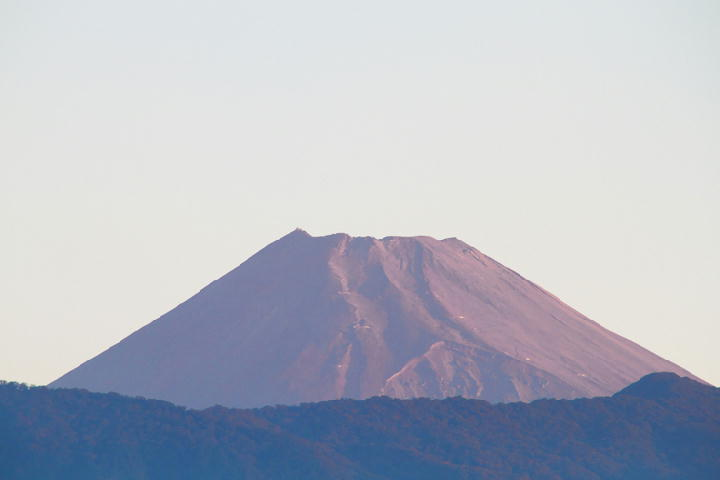 9月19日 5-39 今朝の富士山-1