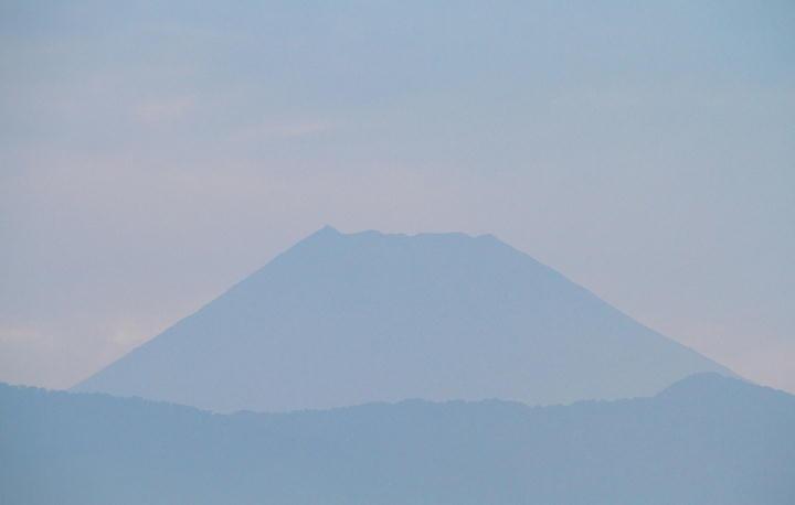 9月20日 5-55 今朝の富士山