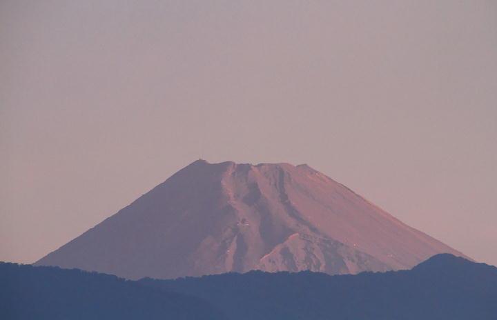 9月24日 5-42 今朝の富士山