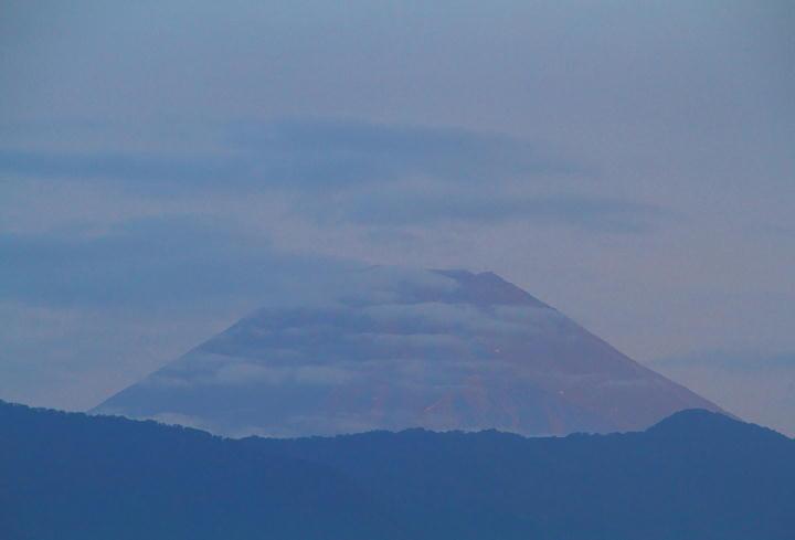 10月1日 5-52 今朝の富士山