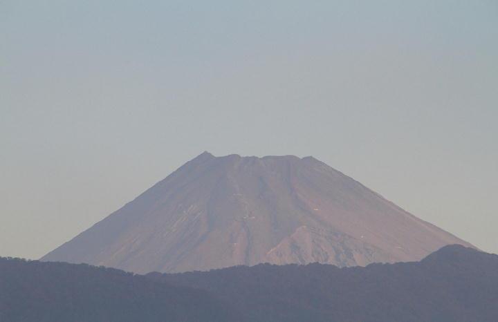 10月4日 6-30 今朝の富士山