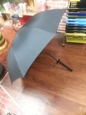 サムライ傘 開