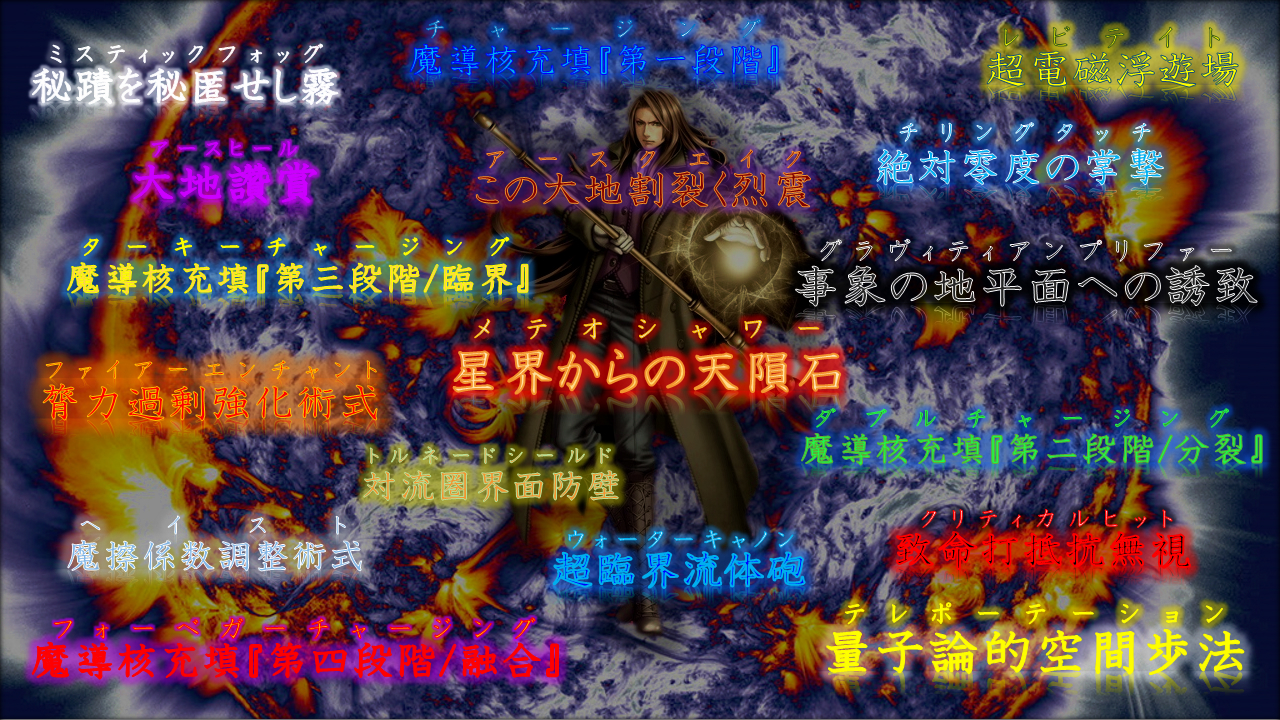 Fate風WIZスキル