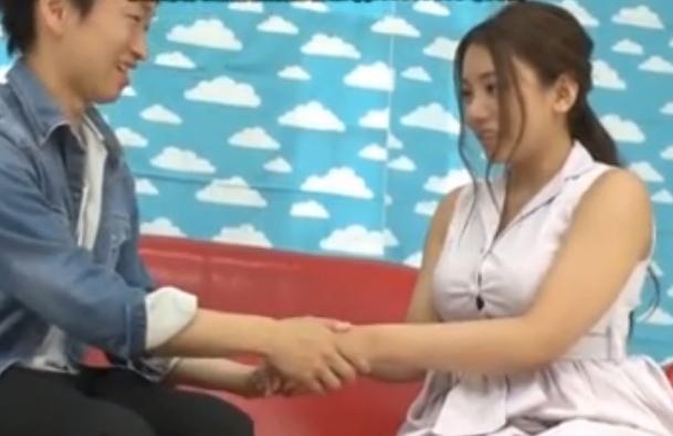 <企画動画>松本メイ グラマーな爆乳美女が童貞クンに優しく筆おろしさせてあげちゃいました♪