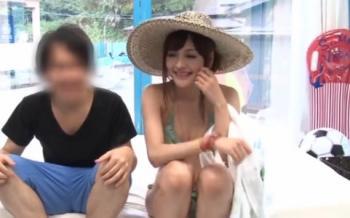 【マジックミラー号】22歳のエロカワ美女シオリちゃんをマッサージと称して寝取ります!【NTR】