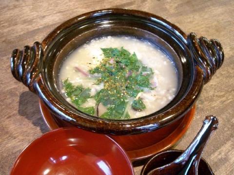 ふじおか・H26・12 蕎麦雑炊