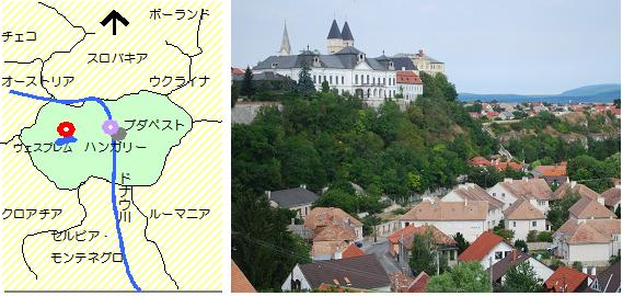 ハンガリーの街路樹マップ