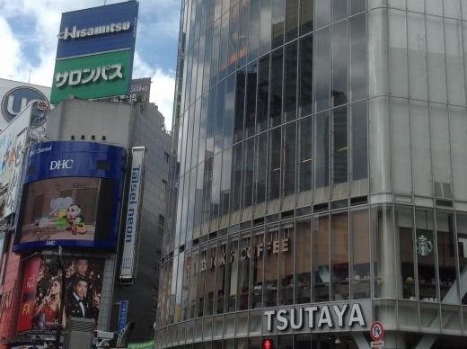 150822展示巡り TSUTAYA